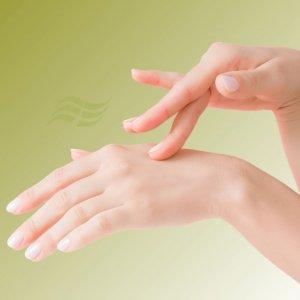 Tratamento das mãos
